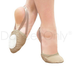 TURNING POINTE HALF-SOLE LEATHER DANCE SHOE by Dancer Only 1