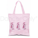 PRETTY IN PINK TOTE BAG by Dancer Only
