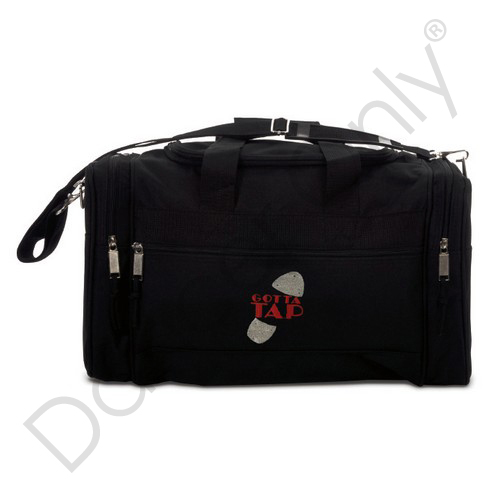 GOTTA TAP - MEDIUM DANCE DUFFLE BAGS by Dancer Only