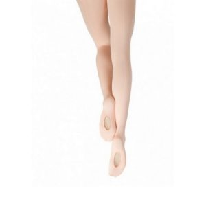 ADULT MESH TRANSITION TIGHTS W/MOCK BACK SEAM by Capezio 1