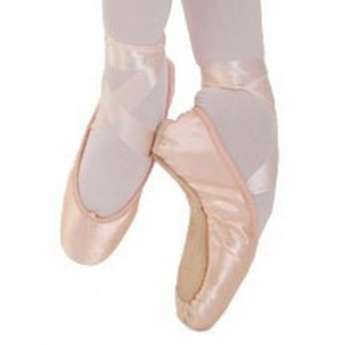 how to break in hard shank pointe shoes