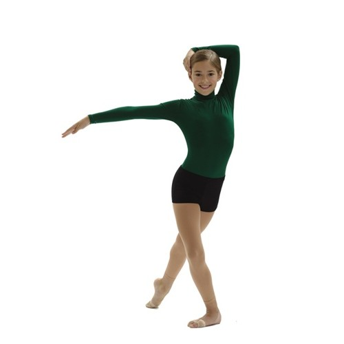 535eb1a97 CHILD TURTLENECK LONG SLEEVE LEOTARD by Capezio