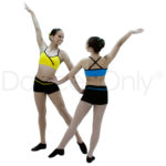 CHILD TWO-TONE CUTIE HOT SHORTS by Dancer Only