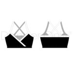 ADULT TWO-TONE CAMISOLE TOP by Dancer Only