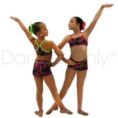 CHILD MULTICOLOR GYMNASTICS CAMISOLE TOP by Dancer Only