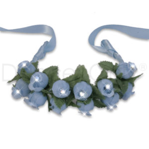 BABY BLUE FLOWER RHINESTONE TIARAS by Dancer Only 1