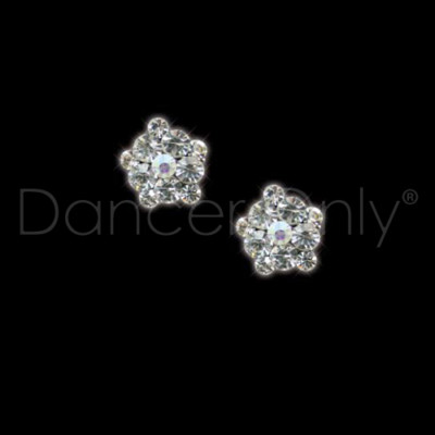 SPARKLE BLOSSOM (PIERCED) by Dancer Only