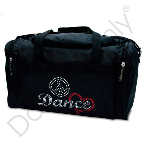 PEACE  LOVE & DANCE JR. PRO-DANCE BAG by Dancer Only
