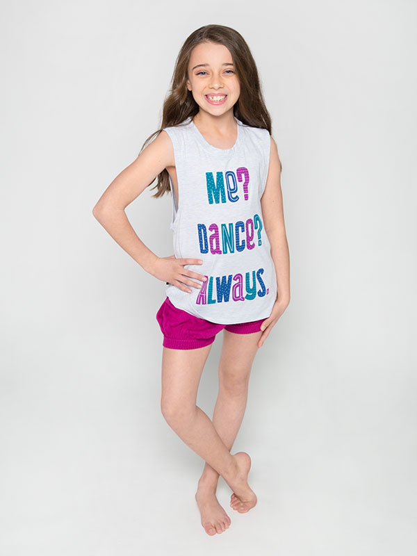 Me. Dance Youth Metro Tank by Sugar and Bruno
